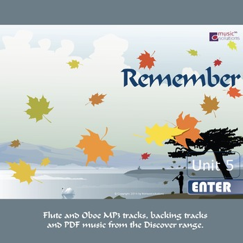 Remember Flute And Oboe MP3 And PDF Unit 5.