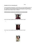Remember The Titans - Courage Writing Response Activity