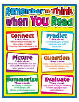 """Remember To Think When You Read- 18"""" x 23"""""""