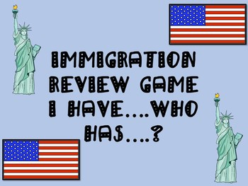 Immigration Review Game