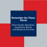 Remember the Titans Discussion & Activity Questions