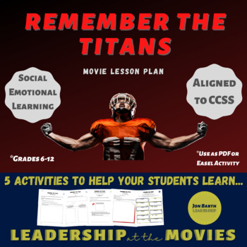 Remember the Titans: Companion Activities