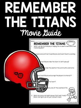 Remember the Titans Movie Guide, Civil Rights Movement, Integration