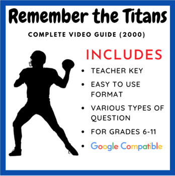 Remember The Titans Complete Movie Guide By William Pulgarin Tpt
