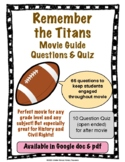 Remember the Titans Movie Guide with Quiz