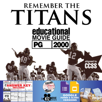 Remember the Titans Movie Viewing Guide (PG-2000)
