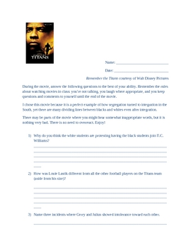 remember the titans conflict resolution worksheet answers