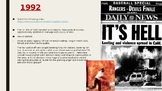 Remember the Titans social context PPT with embedded lesso