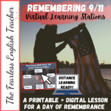 Remembering 9/11: Entire Patriot Day Themed Lesson- All Materials Included