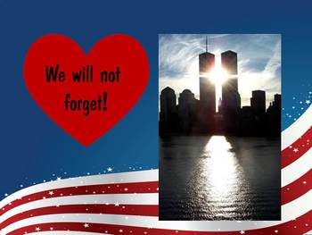Remembering 9-11 Mystery Picture FREEBIE!  Watch, Think, Color
