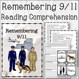 Remembering 9/11 Reading Comprehension