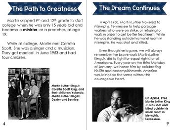 Remembering Martin Luther King Jr. Booklet