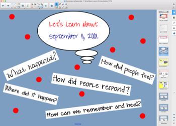 Remembering Sept. 11 SmartBoard lesson Primary Grades