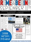 September 11 Reading Passages