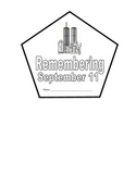 Remembering September 11th / 9-11 Shape Book