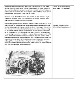 Remembering Slavery: Slave Narratives Primary Sources