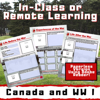 Remembering Vimy Ridge and the Great War - A Deeper Learning Project