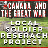 Canada and World War I - Local Soldier Research Project! N