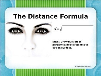 Remembering the Distance Formula