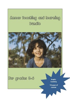 Anzac teaching and learning bundle