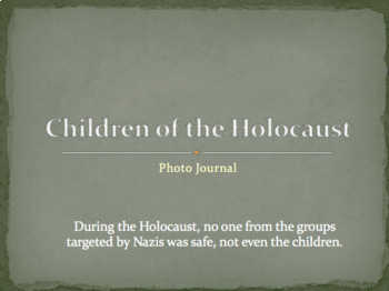 Remembering the Holocaust - Unit Activities