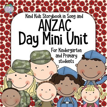 Remembrance Day Song, picture book, printables!