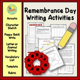 Remembrance Day Writing