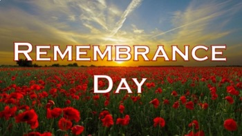 Remembrance Day - A General Introduction