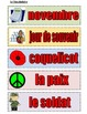 Remembrance Day/ Memorial Day Activities in FRENCH-Great for FSL Core/Immersion