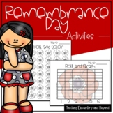 Remembrance Day Number Sense and Literacy Activities | Lit