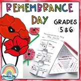 Remembrance Day Activities Australia - Years 5 - 6