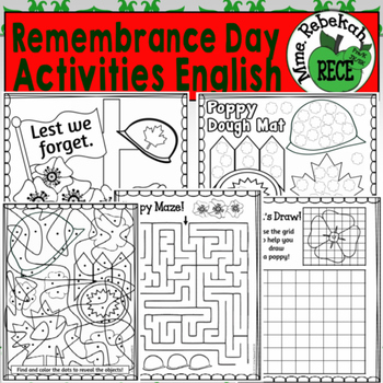 Remembrance Day Activities Canada