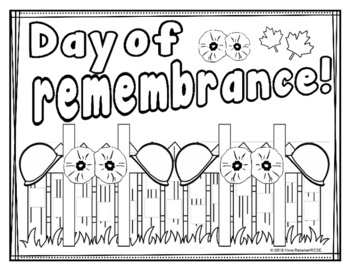 Remembrance Day Activity (4 pages)