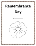 Canadian Remembrance Day Activity Booklet