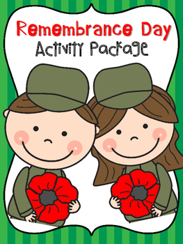 Remembrance Day Activity Package {Writing Craftivity}