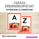 Remembrance Day Alphabet Cards: Canada Remembrance Day