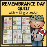 Remembrance Day Activity with Writing Prompts and Art