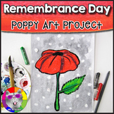 Remembrance Day Art Project, Poppy