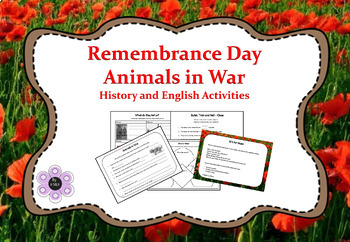 Remembrance Day Australia - Animals in War - History and E