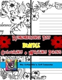 Remembrance Day Colouring Sheets and Writing Activities