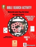 Remembrance Day Bible Work Wreath Project