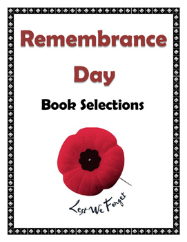 Remembrance Day Book Display Sign