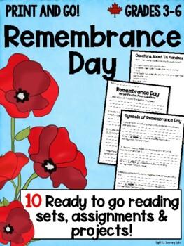 Remembrance Day Bundle