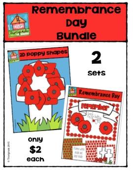 Remembrance Day Bundle {P4 Clips Trioriginals Digital Clip Art}