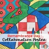 Remembrance Day Canada - Classroom Collaboration Poster