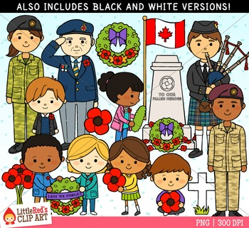 Remembrance Day Canada Clipart