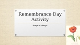 Remembrance Day Collaborative Activity