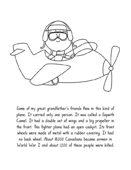 Remembrance Day Colouring Book