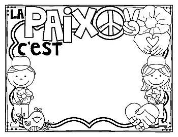 Remembrance Day Poppy Flag Craft and Printables - Jour du Souvenir
