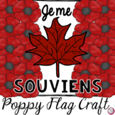 Remembrance Day Poppy Flag Craft & Printables - Jour du Souvenir